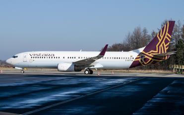 2-BTTA - Vistara Boeing 737-800