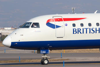 G-LCAA - British Airways - City Flyer Embraer ERJ-190 (190-100)