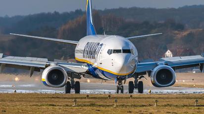 EI-FTY - Ryanair Boeing 737-8AS