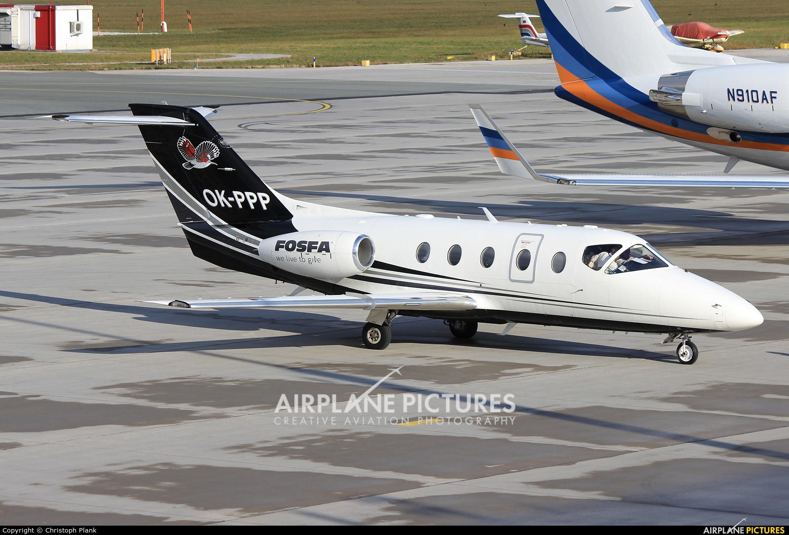 Time Air  OK-PPP aircraft at Innsbruck