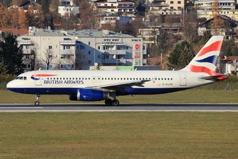 G-EUYB - British Airways Airbus A320