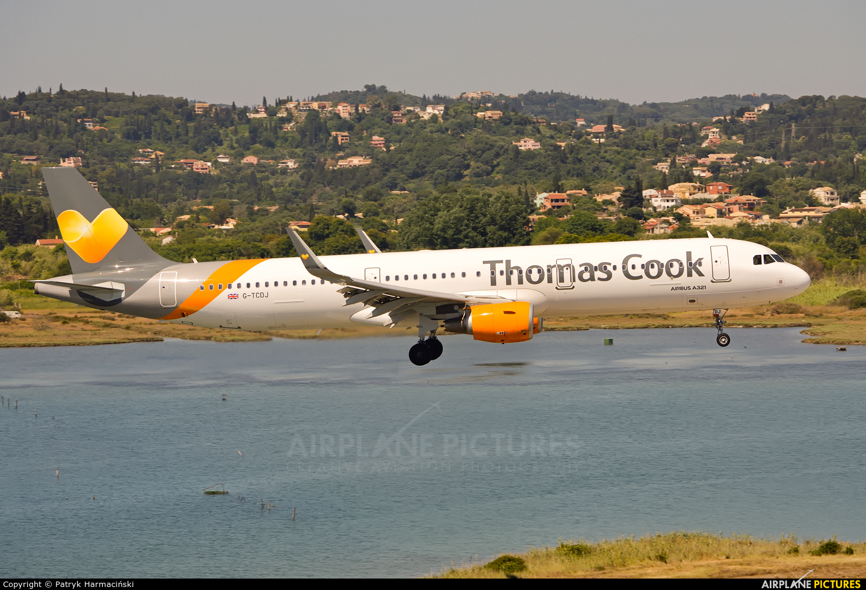 Thomas Cook G-TCDJ aircraft at Corfu - Ioannis Kapodistrias