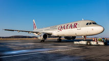 A7-ADS - Qatar Airways Airbus A321 aircraft