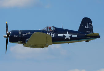 NX83JC - Private Goodyear FG Corsair (all models)