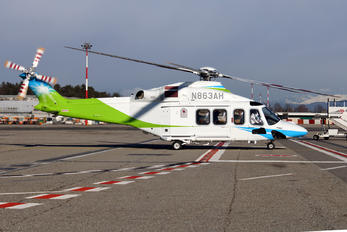 N863AH - Saudi Aramco Aviation Agusta Westland AW139