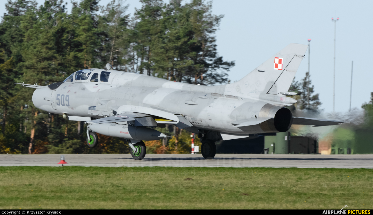 Poland - Air Force 509 aircraft at Świdwin