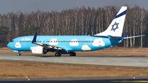 4X-EKM - El Al Israel Airlines Boeing 737-800 aircraft
