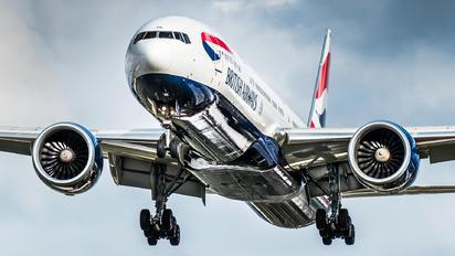 G-STBI - British Airways Boeing 777-300