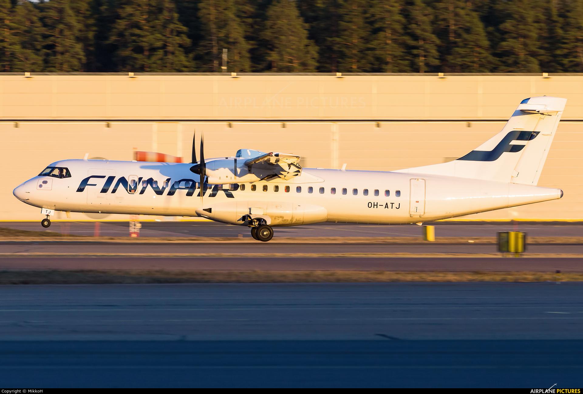 Finnair OH-ATJ aircraft at Helsinki - Vantaa