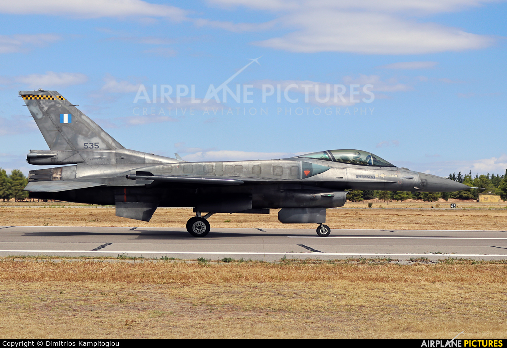 Greece - Hellenic Air Force 535 aircraft at Tanagra