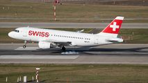 HB-IPT - Swiss Airbus A319 aircraft