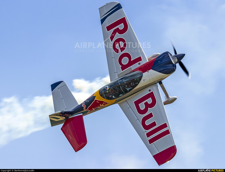The Flying Bulls Duo : Aerobatics Team OK-FBD aircraft at Nowy Targ Airport