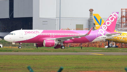 F-WHUM - Peach Aviation Airbus A320
