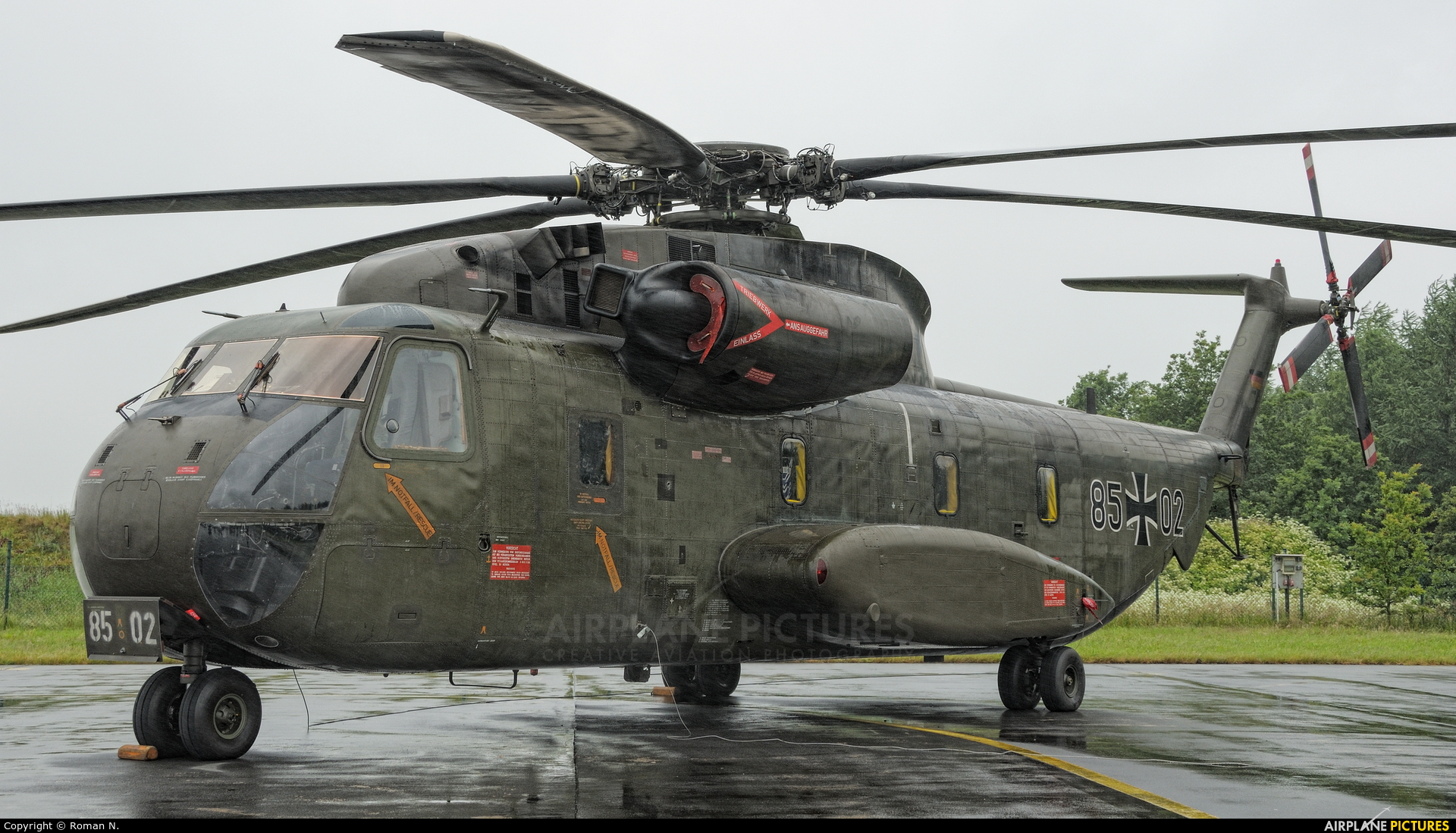 Germany - Air Force 85+02 aircraft at Wittmundhafen