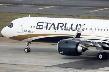 B-58202 - Starlux Airlines Airbus A321 NEO