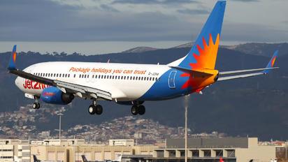G-JZHA - Jet2 Boeing 737-800