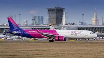 HA-LVG - Wizz Air Airbus A321 NEO aircraft