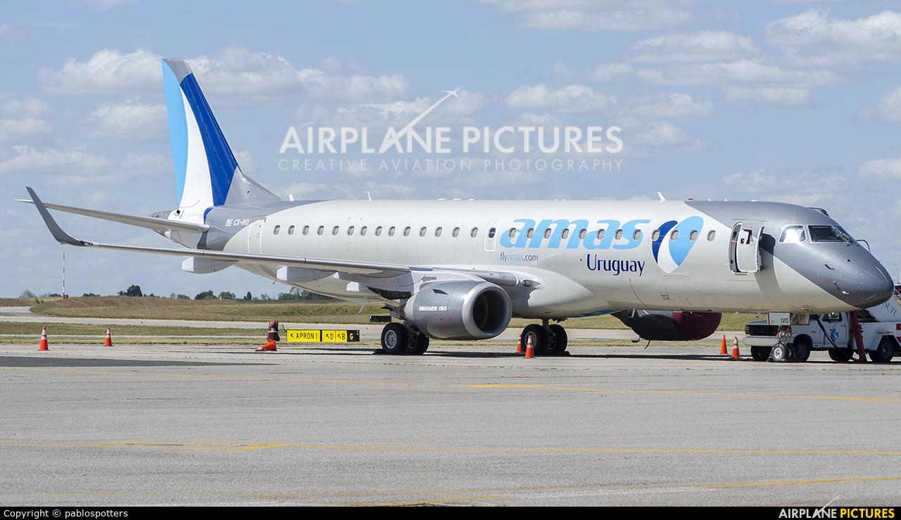 Amaszonas Uruguay CX-IVO aircraft at Montevideo