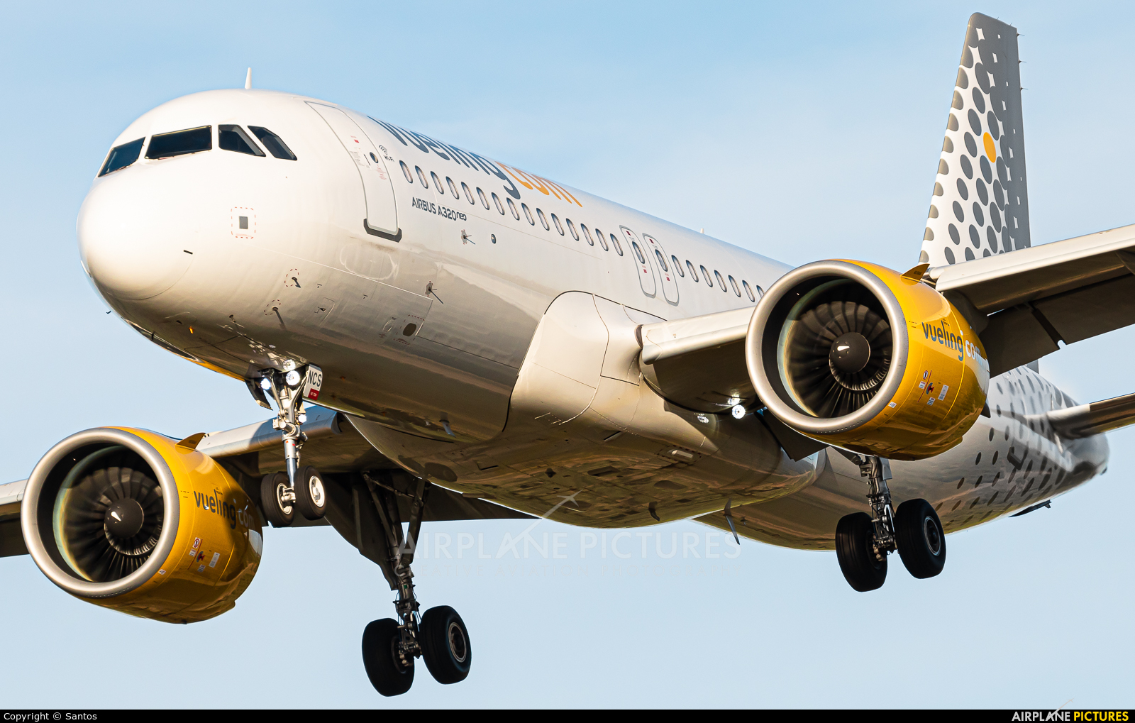 Vueling Airlines EC-NCS aircraft at Seville - San Pablo