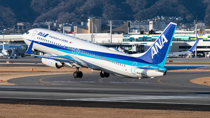 JA60AN - ANA - All Nippon Airways - Airport Overview - Overall View