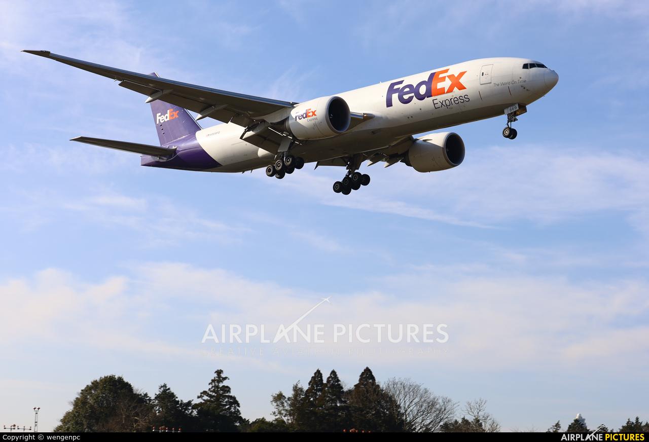 FedEx Federal Express N869FD aircraft at Tokyo - Narita Intl