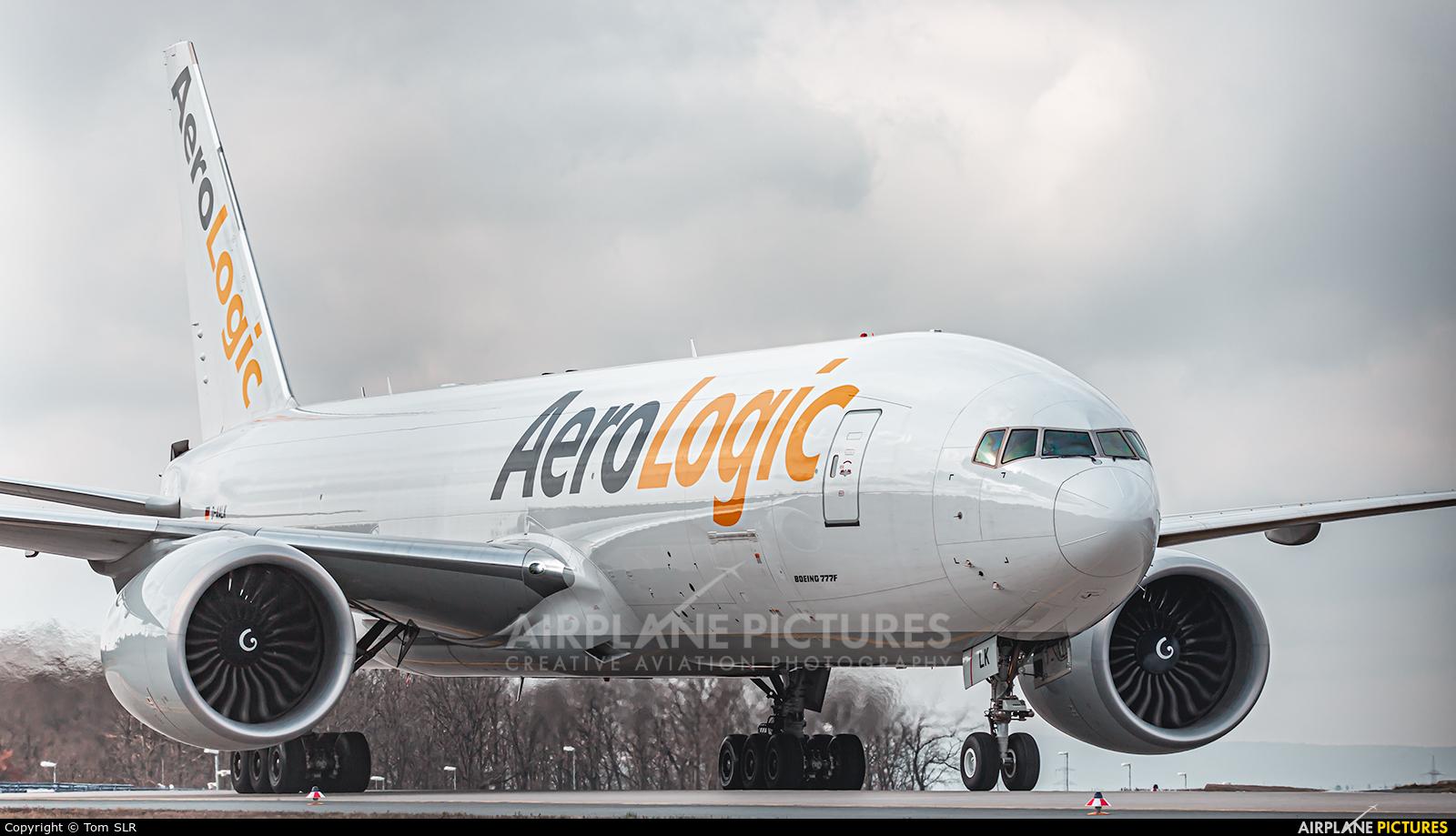 AeroLogic D-AALK aircraft at Frankfurt
