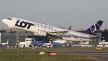 SP-LLF - LOT - Polish Airlines Boeing 737-400 aircraft