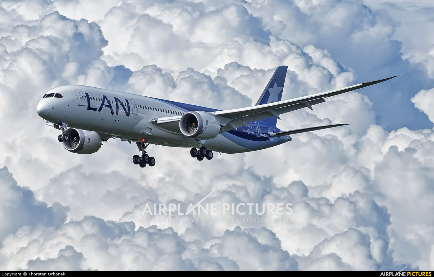 LAN Airlines CC-BGD aircraft at Frankfurt