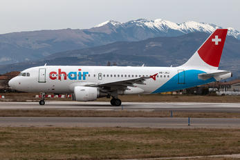 HB-JOJ - Chair Airlines Airbus A319