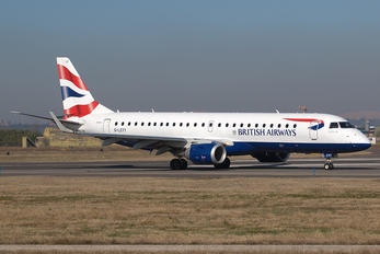 G-LCYY - British Airways Embraer ERJ-190 (190-100)
