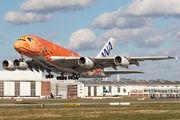 F-WWAL - ANA - All Nippon Airways Airbus A380 aircraft