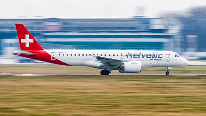 HB-AZA - Helvetic Airways Embraer ERJ-190-E2
