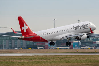 HB-JVT - Helvetic Airways Embraer ERJ-190 (190-100)