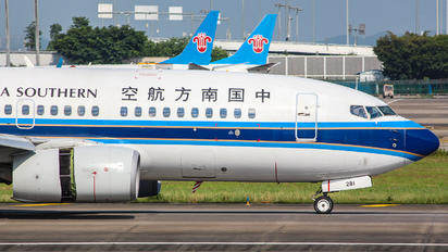 B-5281 - China Southern Airlines Boeing 737-700