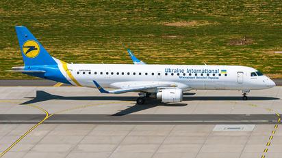 UR-EMA - Ukraine International Airlines Embraer ERJ-190 (190-100)