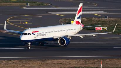 G-NEOX - British Airways Airbus A321 NEO