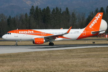 G-EZRZ - easyJet Airbus A320