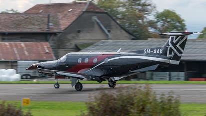 OM-AAK - Private Pilatus PC-12