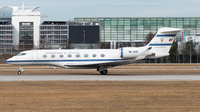 9K-GGB - Kuwait - Government Gulfstream Aerospace G650, G650ER