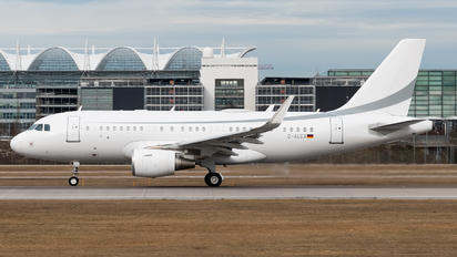 D-ALEX - K5 Aviation Airbus A319 CJ