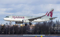 A7-AHQ - Qatar Airways Airbus A320 aircraft