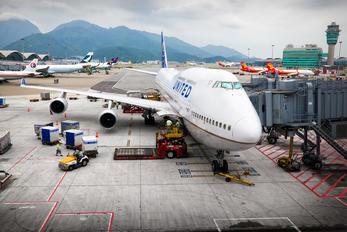 N116UA - United Airlines Boeing 747-400