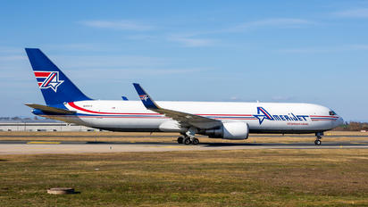 N378CX - Amerijet International Boeing 767-300ER