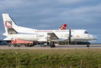 G-GNTF - Loganair SAAB 340