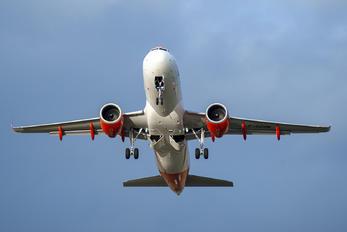G-UZHN - easyJet Airbus A320 NEO
