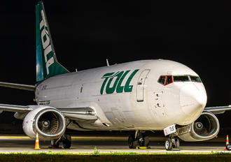 ZK-TLE - Toll Priority Boeing 737-300F