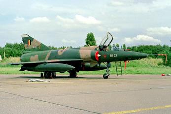 BR-23 - Belgium - Air Force Dassault Mirage V BR