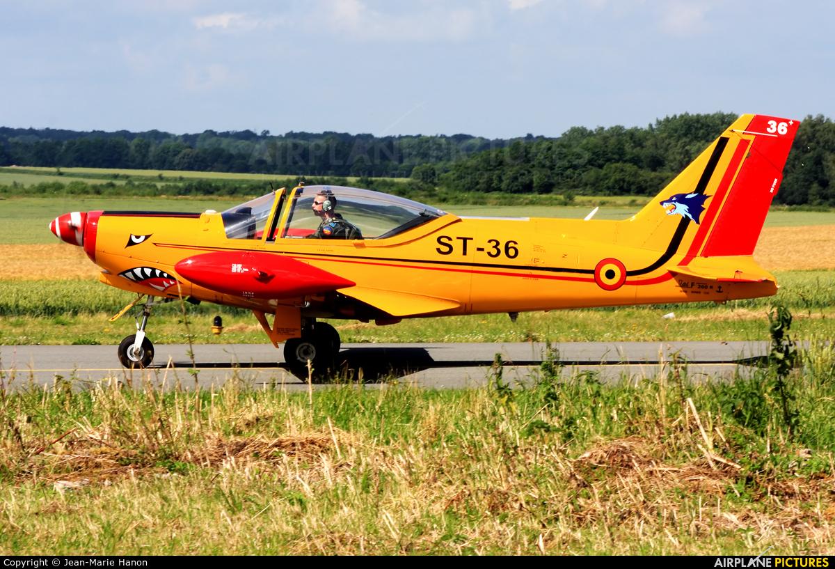Belgium - Air Force ST-36 aircraft at Florennes