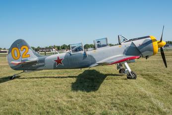 N2860X - Private Yakovlev Yak-52