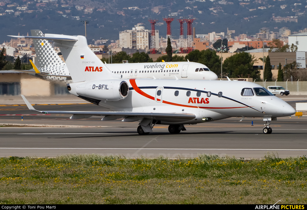 Atlas Air D-BFIL aircraft at Palma de Mallorca